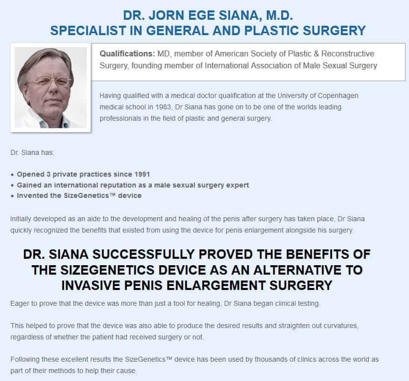Dr. Jorn Siana